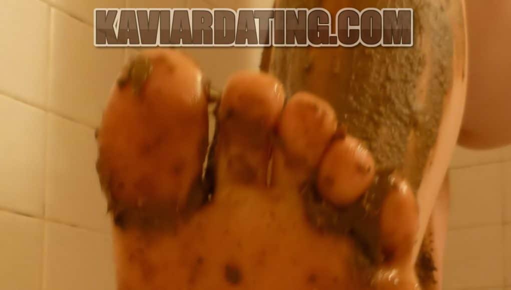 Du darfst mir den Kaviar von den Füßen lecken.